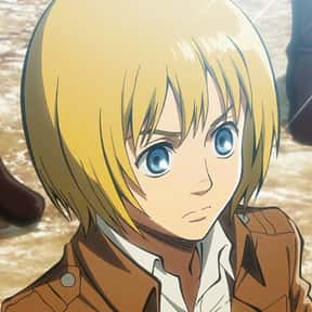 Armin Arlert is listed (or ranked) 10 on the list The Best Anime Characters With Blond Hair