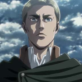 Erwin Smith is listed (or ranked) 21 on the list The Smartest Anime Characters of All Time