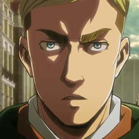 Erwin Smith is listed (or ranked) 3 on the list The Best Attack on Titan Characters