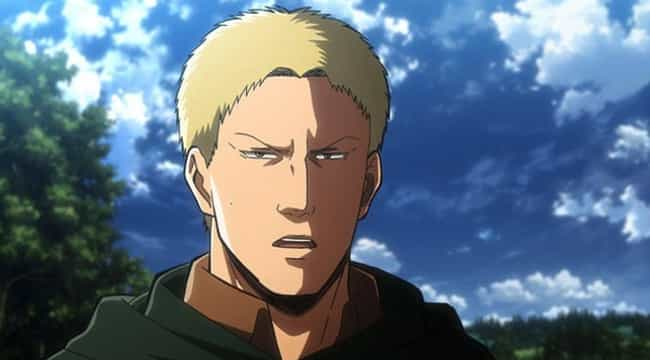 Reiner Braun is listed (or ranked) 3 on the list Which Anime Villain Are You, Based On Your Zodiac Sign?