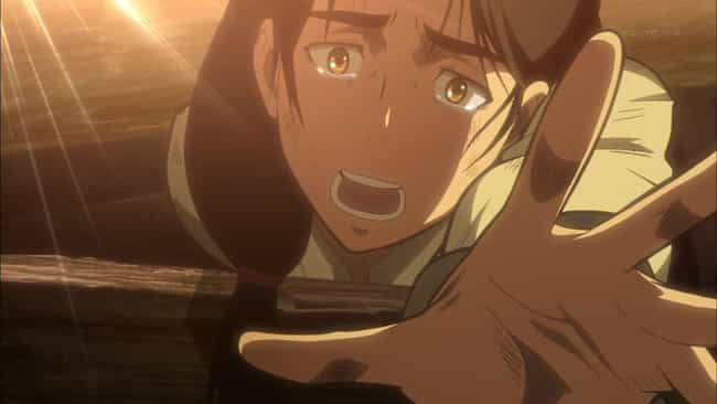 Carla Jaeger is listed (or ranked) 2 on the list The 16 Most Traumatic Attack On Titan Deaths (So Far)