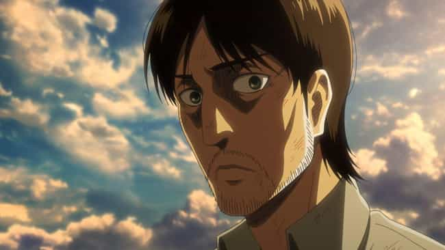 Grisha Jaeger is listed (or ranked) 4 on the list 15 Times Anime Parents Were Right To Abandon Their Kids