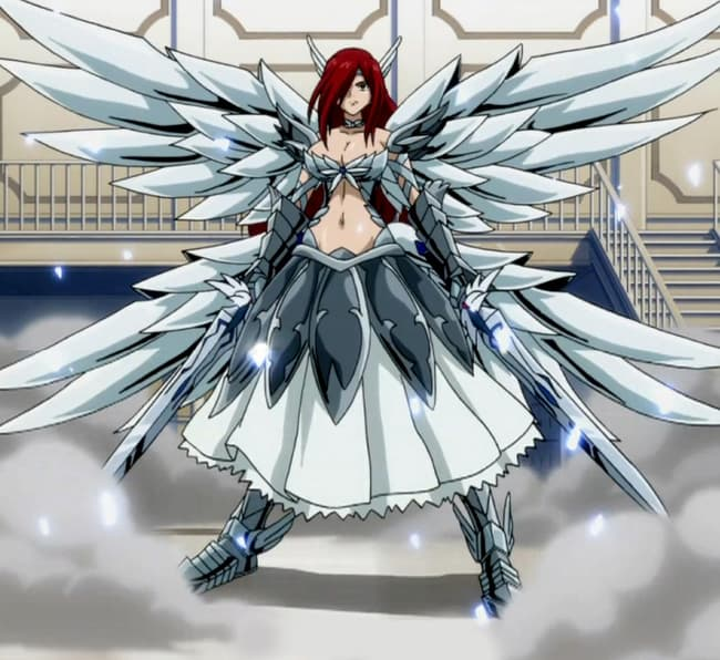 Erza scarlet is listed or ranked 1 on the list female anime characters with