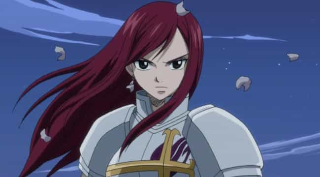 Erza Scarlet Is Listed Or Ranked 2 On The List Female Anime Characters You
