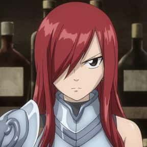 Erza Scarlet is listed (or ranked) 2 on the list The Best Anime Characters With One Eye Showing