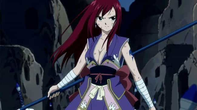Erza Scarlet is listed (or ranked) 1 on the list The Most Powerful Female Anime Characters of All Time