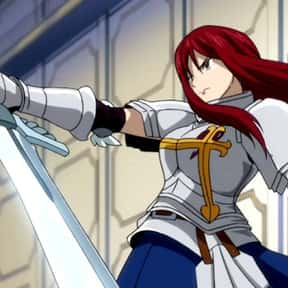 Erza Scarlet is listed (or ranked) 2 on the list The Most Attractive Anime Girls of All Time