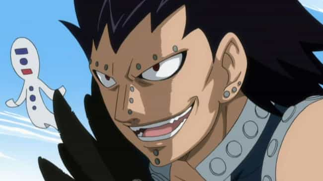 Gajeel Redfox is listed (or ranked) 3 on the list 15 Times Anime Villains Switched Sides and Turned Good
