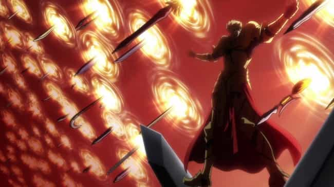 Gilgamesh Is Listed Or Ranked 4 On The List Most Pointlessly Overpowered Anime