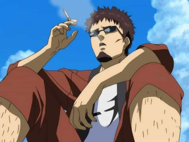 Taizou Hasegawa is listed (or ranked) 4 on the list 15 Anime Characters Who Probably Smoke Weed