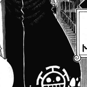 Trafalgar Law is listed (or ranked) 18 on the list The Best Anime Swordsman of All Time