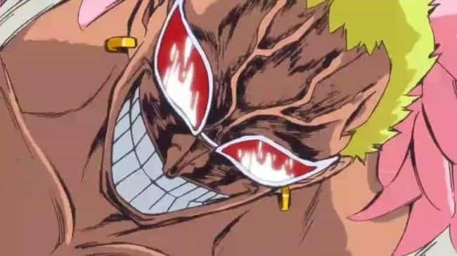 Donquixote Doflamingo is listed (or ranked) 7 on the list The 20 Best Quotes From Anime Villains