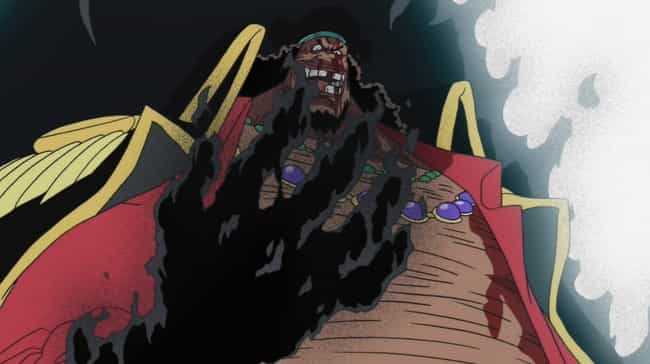 """Marshall """"Blackbear... is listed (or ranked) 4 on the list The 13 Most Powerful Devil Fruit Powers In 'One Piece'"""
