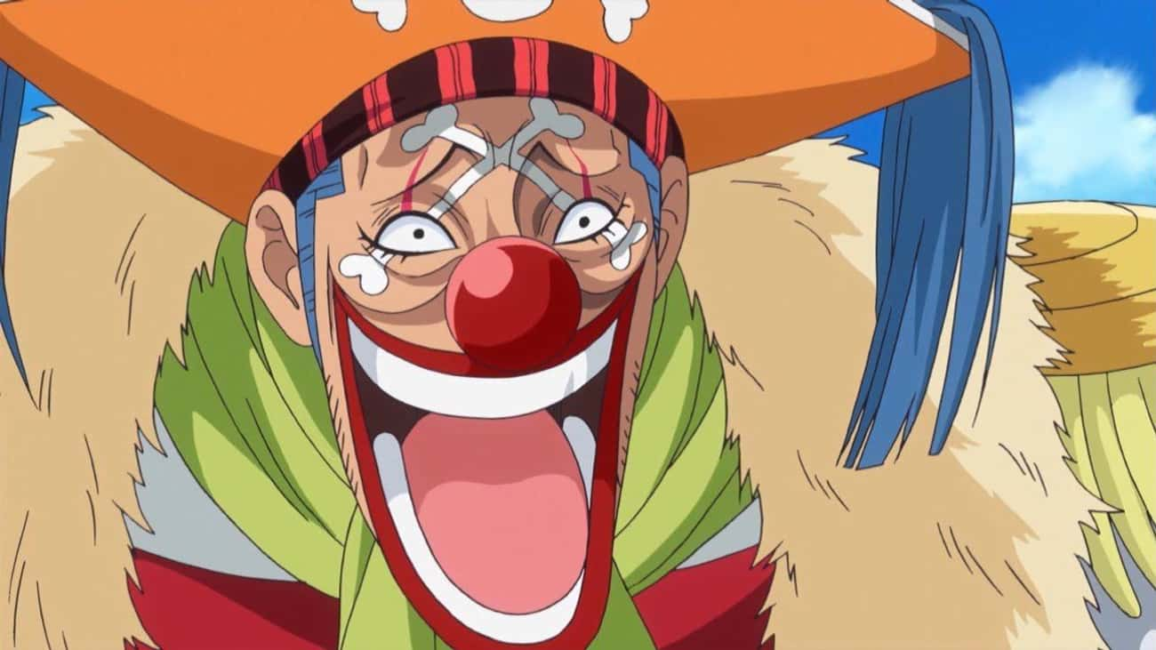 Buggy The Clown - 'One Piece' is listed (or ranked) 1 on the list The 14 Funniest Anime Villains of All Time