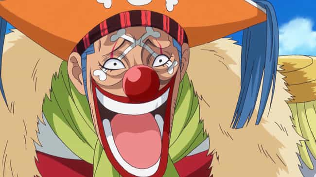 Buggy the Star Clown is listed (or ranked) 6 on the list 13 Anime Clowns You Definitely Don't Want To Mess With