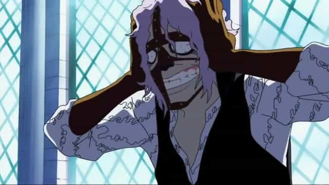 Spandam is listed (or ranked) 3 on the list The 15 Weakest Anime Villains You Could Probably Beat