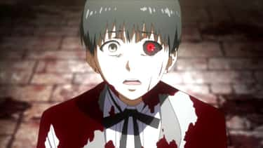 Ken Kaneki - 'Tokyo Ghoul' is listed (or ranked) 2 on the list 13 Tragic Anime Heroes Who Are Hard Not To Pity