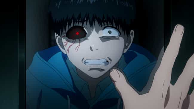 Ken Kaneki is listed (or ranked) 2 on the list The 14 Most Unlucky Characters In Anime