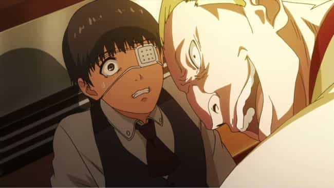 Ken Kaneki is listed (or ranked) 1 on the list 15 Anime Characters Who Experienced Psychological Torture