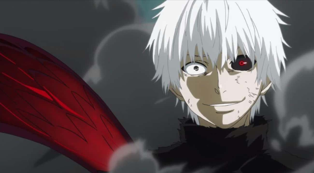Ken Kaneki's Personality Flips is listed (or ranked) 3 on the list 15 Times Anime Characters Came Back Stronger Than Before