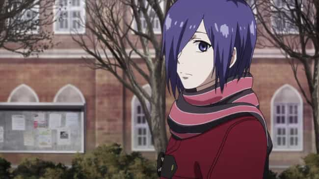 Touka Kirishima is listed (or ranked) 2 on the list Which Badass Female Anime Character, Based On Your Zodiac Sign?