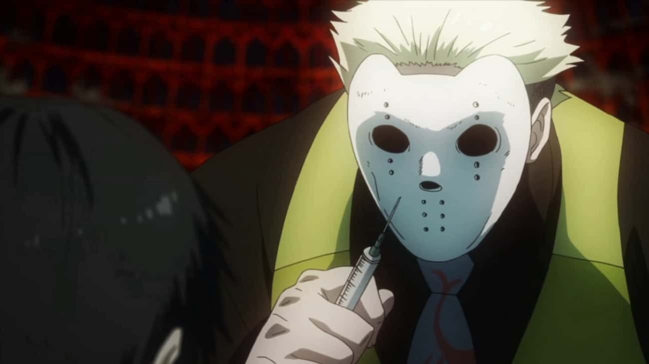 Yakumo Oomori From Tokyo Ghoul