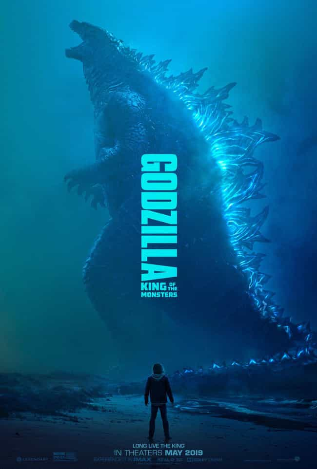 Godzilla: King of the Monsters is listed (or ranked) 2 on the list The Coolest Movie Posters for 2019 Films