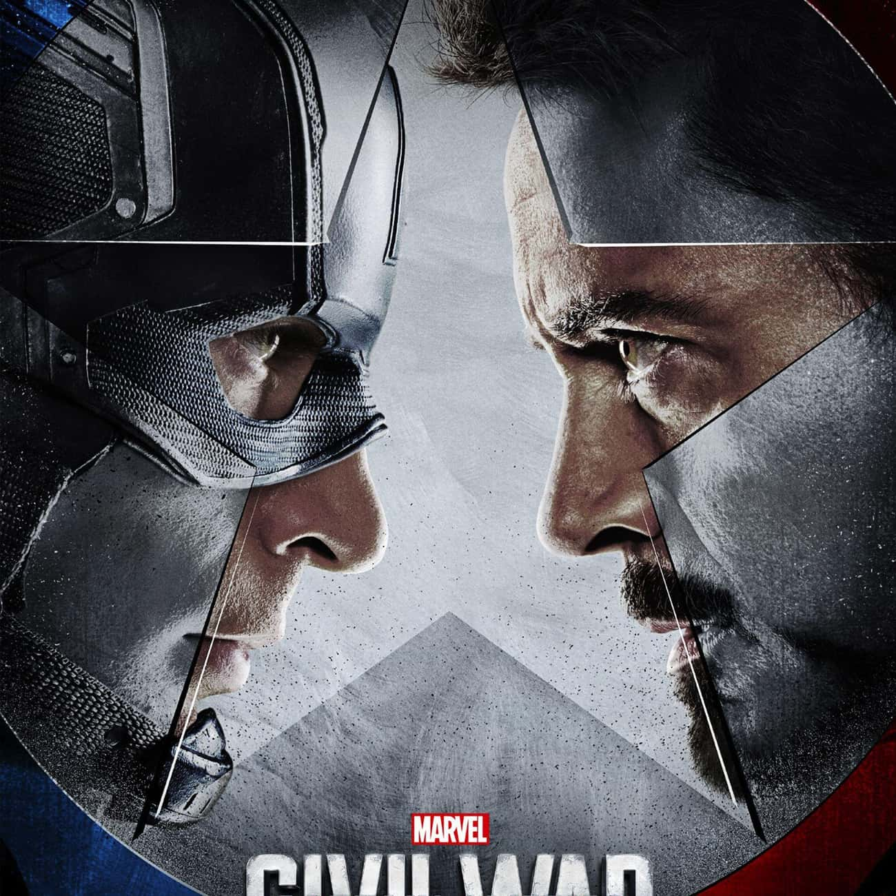 Captain America: Civil War is listed (or ranked) 3 on the list The Best Movies In The Marvel Cinematic Universe, Ranked