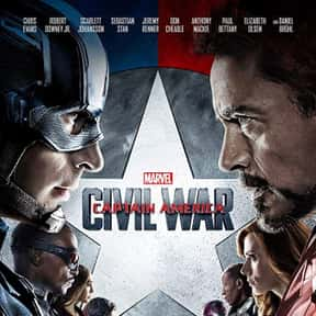 Captain America: Civil War is listed (or ranked) 2 on the list The Best Movies Based on Marvel Comics