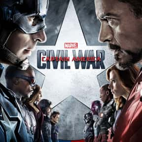 Captain America: Civil War is listed (or ranked) 9 on the list The Highest-Grossing PG-13 Rated Movies Of All Time