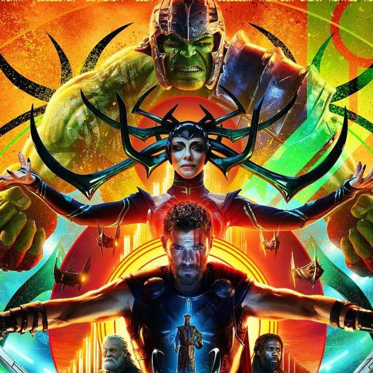 Thor: Ragnarok is listed (or ranked) 1 on the list All the Thor Movies in the MCU (And That Other One), Ranked
