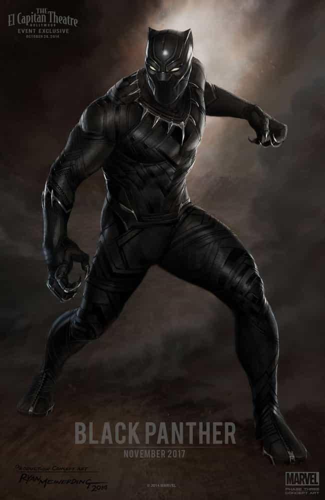 Black Panther is listed (or ranked) 4 on the list Things You Should Know About Marvel Studios' Phase 3