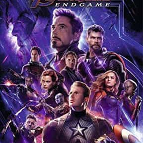 Avengers: Endgame is listed (or ranked) 6 on the list The Greatest Comic Book Movies of All Time