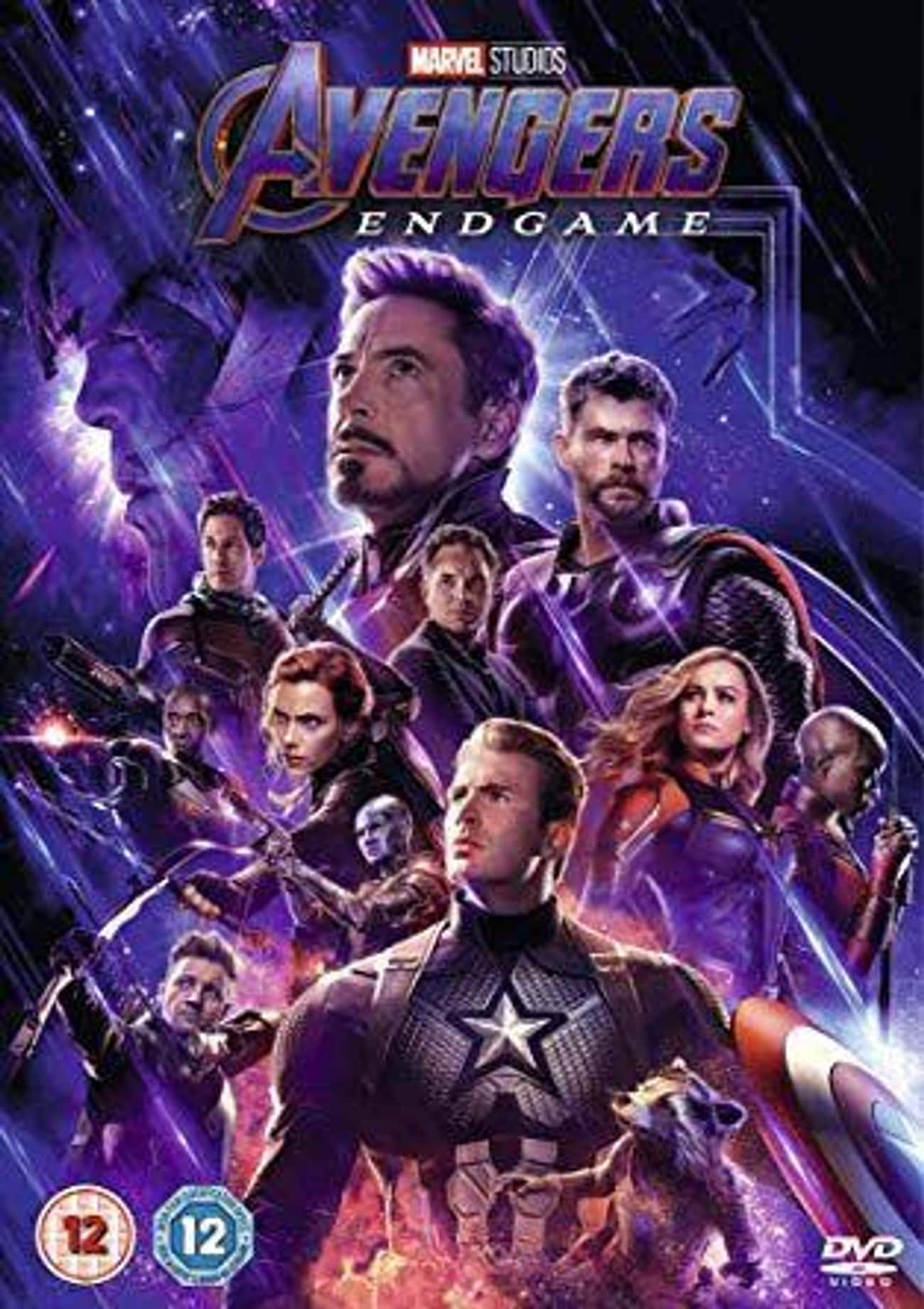 Avengers: Endgame is listed (or ranked) 4 on the list The Best Movies In The Marvel Cinematic Universe, Ranked