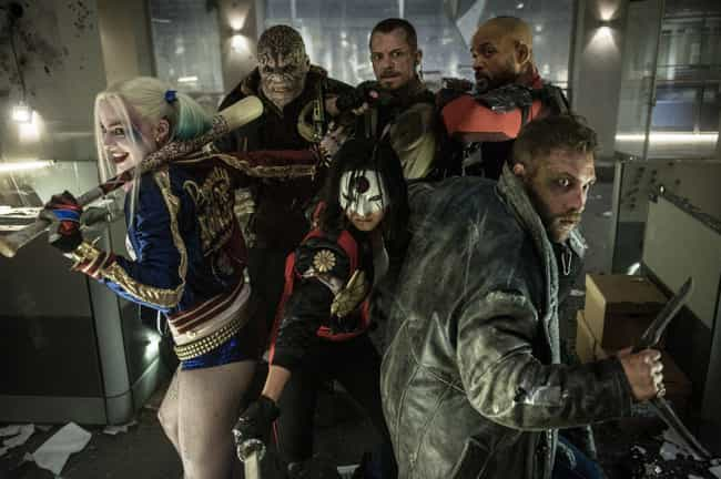 Suicide Squad is listed (or ranked) 4 on the list The Superhero Movie Bubble Is About To Burst And These Adaptations Prove It