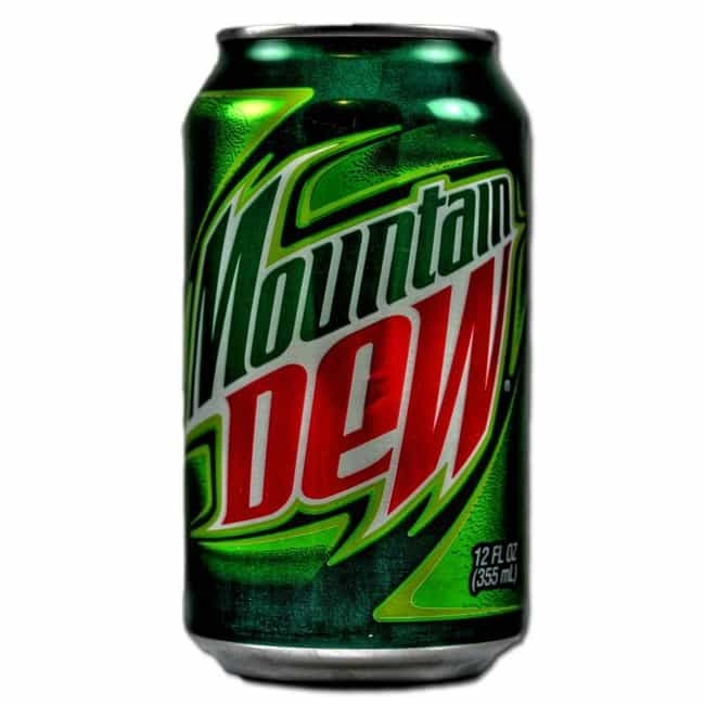 Mountain Dew is listed (or ranked) 4 on the list 19 Must-Have Snacks for Gamers