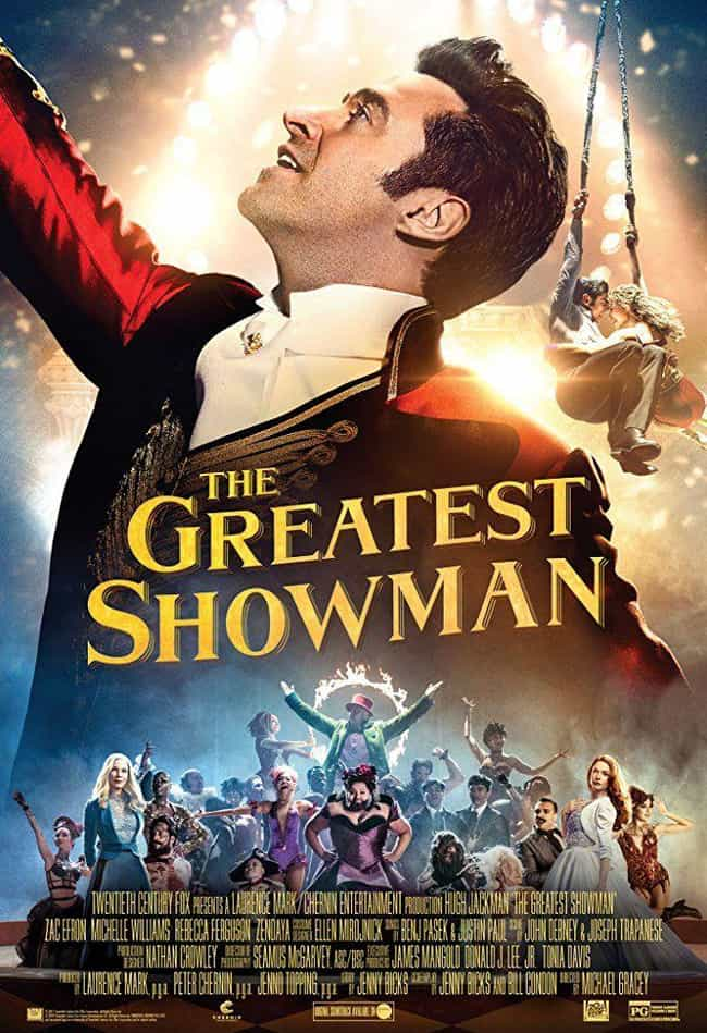 The Greatest Showman is listed (or ranked) 3 on the list The Best Zendaya Movies