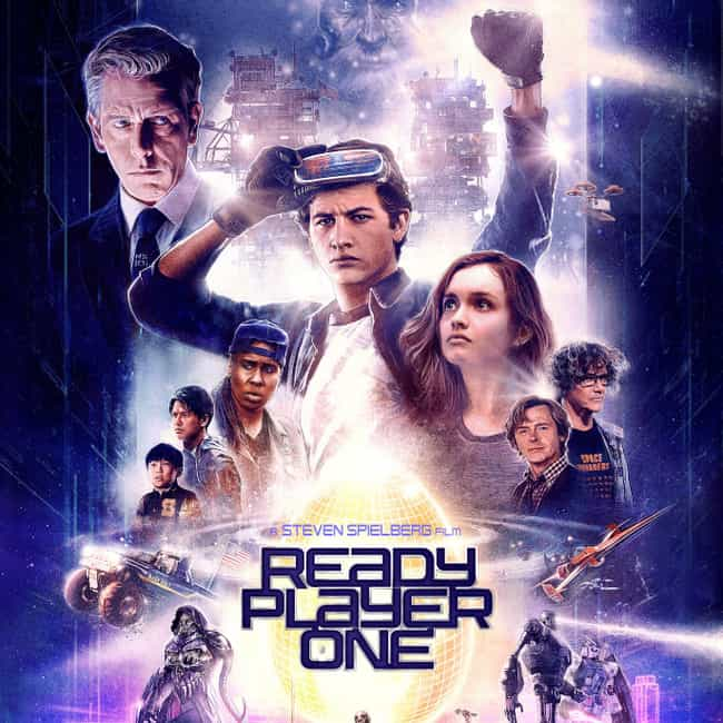Ready Player One is listed (or ranked) 1 on the list The Best Movies About Playing Video Games