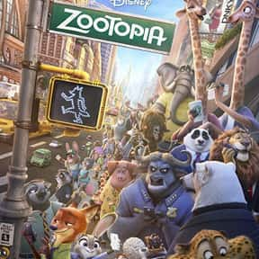 Zootopia is listed (or ranked) 24 on the list The Best 3D Films
