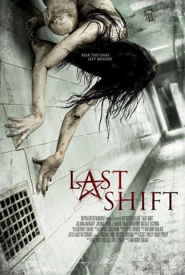 Last Shift is listed (or ranked) 2 on the list The Semi-Spookiest Movies About Ghosts On Netflix Right Now