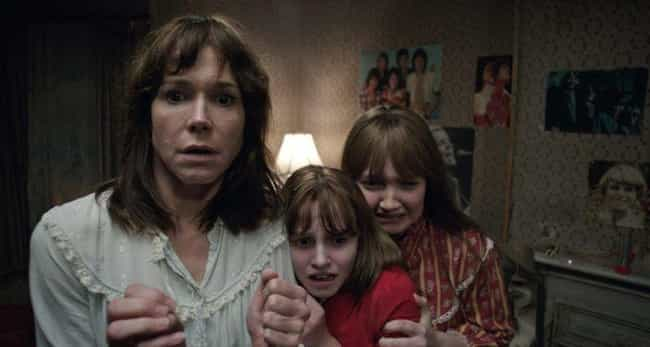 """The Conjuring 2: The Enfield P... is listed (or ranked) 6 on the list Are These Horror Movies Really """"Based On A True Story""""? Truth Is, They're Reaching"""