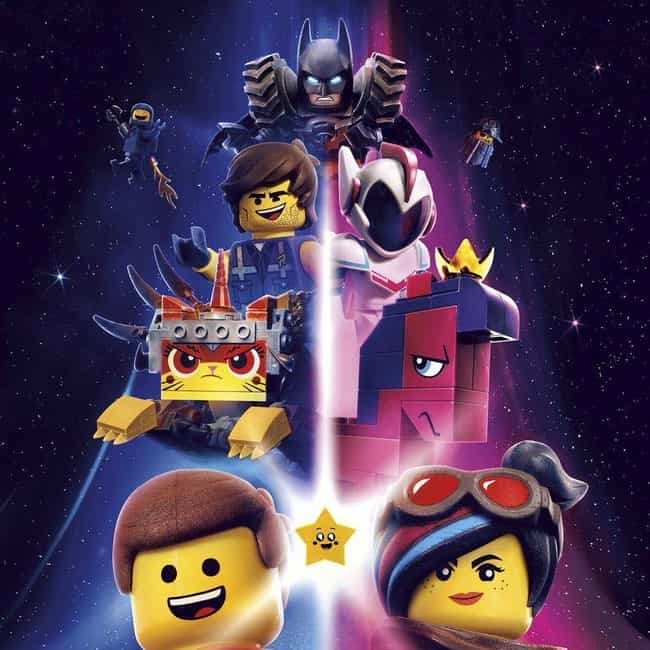 The Lego Movie 2: The Second P... is listed (or ranked) 4 on the list The Best Movie Soundtracks of 2019