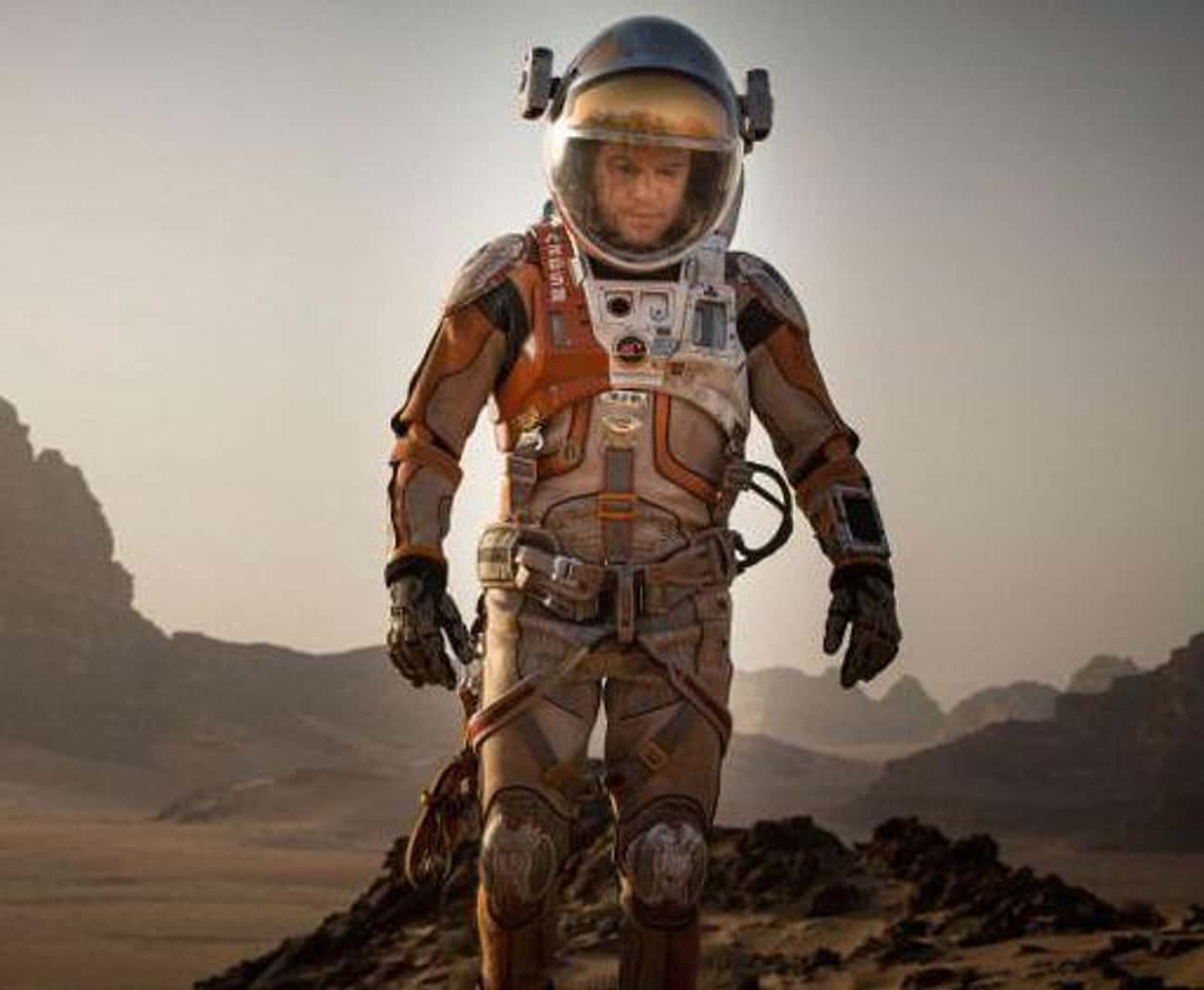 'The Martian' Wins For Best Musical/Comedy