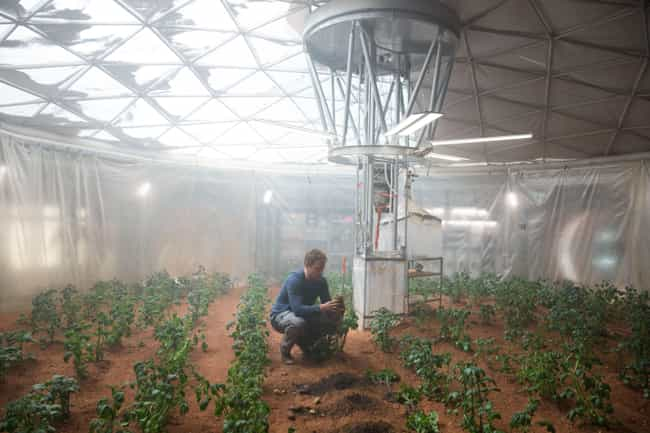 The Martian is listed (or ranked) 4 on the list TV Shows and Movies with the Best Use of Airlocks