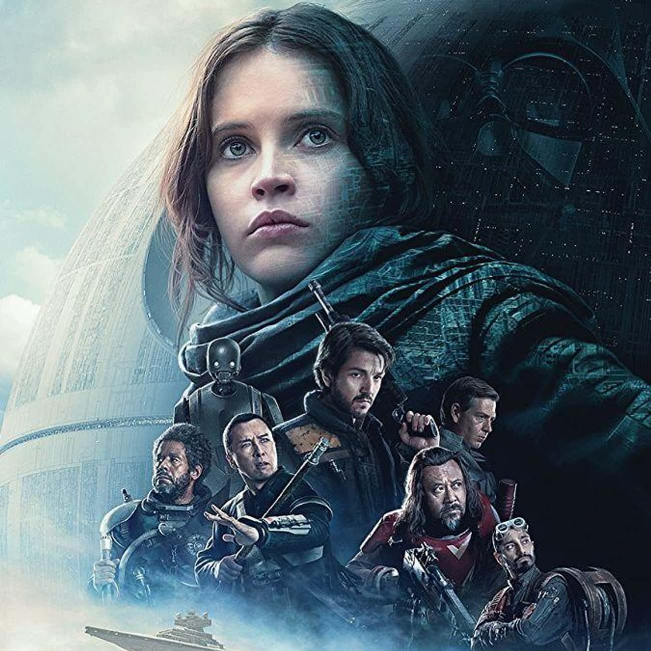 Rogue One: A Star Wars Story is listed (or ranked) 3 on the list What To Watch If You Love 'The Mandalorian'