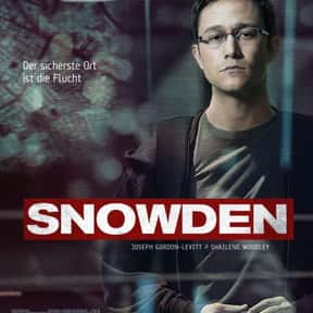 Snowden is listed (or ranked) 4 on the list The Best Movies About Surveillance and Hidden Cameras