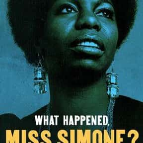 What Happened, Miss Simone? is listed (or ranked) 2 on the list The Best Music Documentaries On Netflix, Ranked