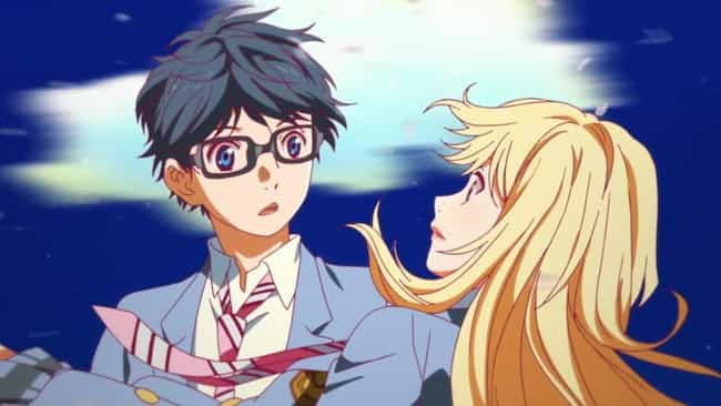Your Lie in April is listed (or ranked) 2 on the list The Best Anime Like Yuri!!! On Ice