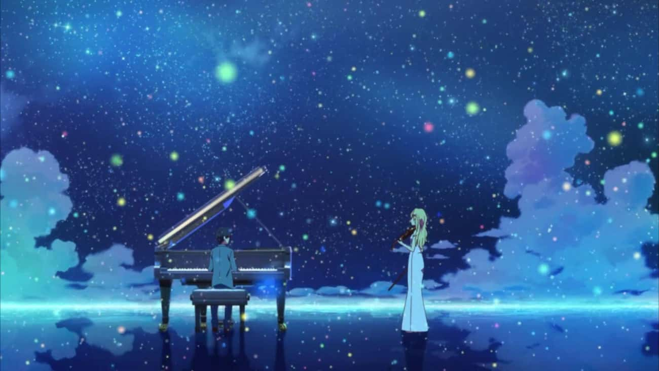 Your Lie in April is listed (or ranked) 2 on the list The 15 Most Depressing Anime Endings That Left You Dead Inside