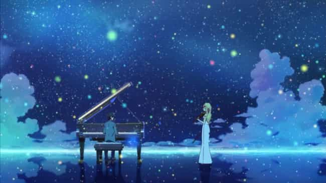 Your Lie in April is listed (or ranked) 3 on the list The 15 Most Depressing Anime Endings That Left You Dead Inside